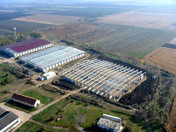 Oltóberendezéssel védett mezőgazdasági üzem