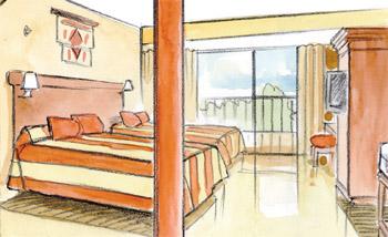 Vízköddel oltó berendezések szállodáknál