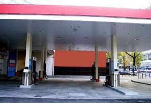 Tűzőr Kft. üzemanyagtöltő állomáson megvalósított nyitott szórófejes habsprinkler rendszere